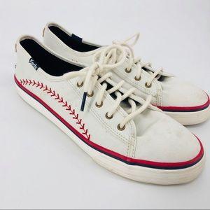Keds Baseball Sneakers Size 6